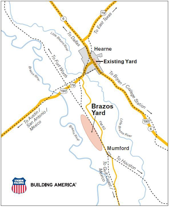 Union Pacific to spend $550 million on massive new rail yard ...