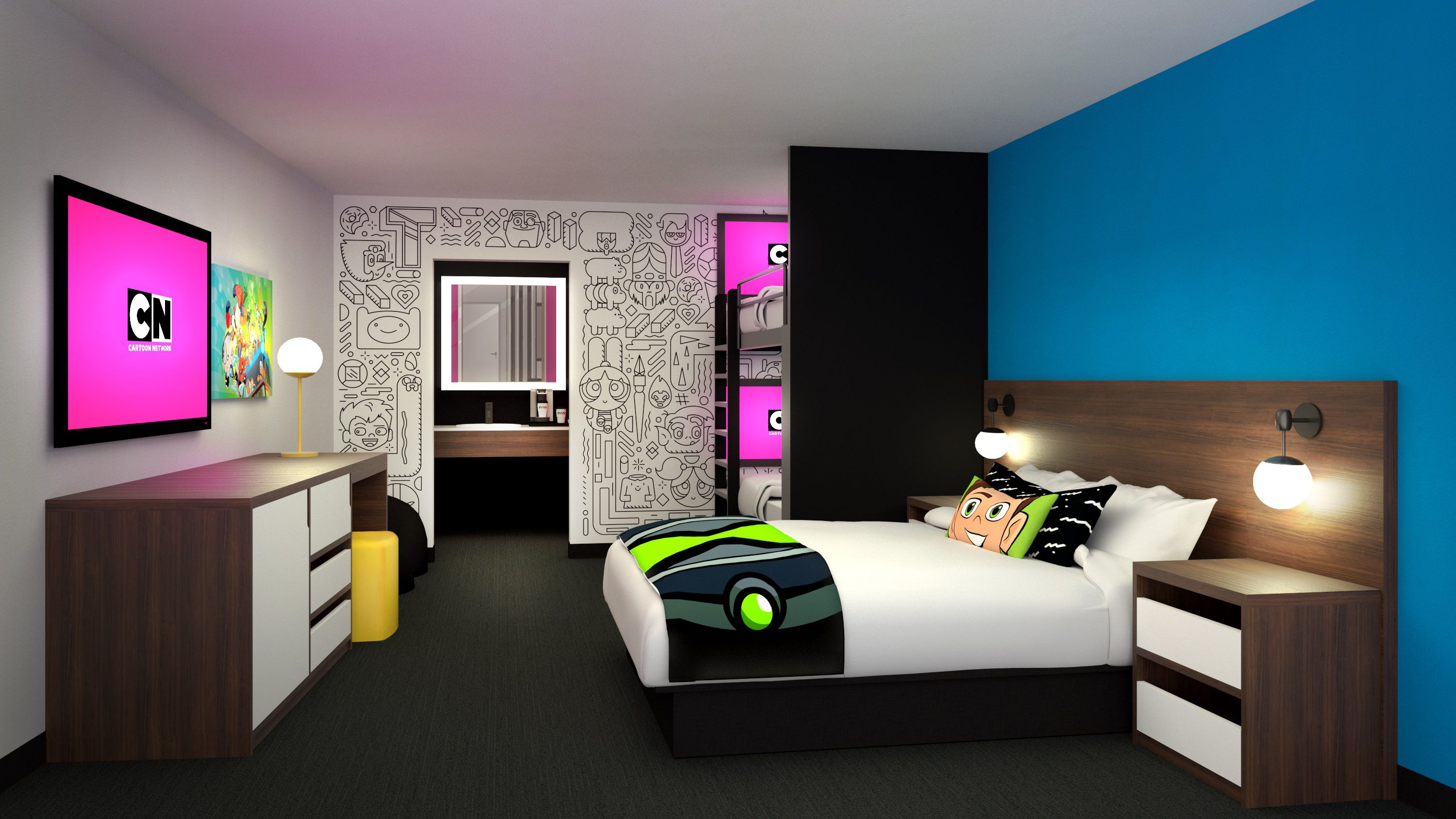 7 Things To Know About The Cartoon Network Hotel Before It Opens