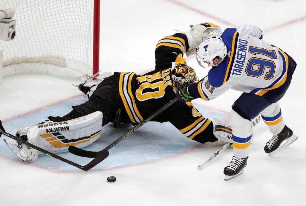 St  Louis Blues defeat Boston Bruins in Game 2, tie Stanley