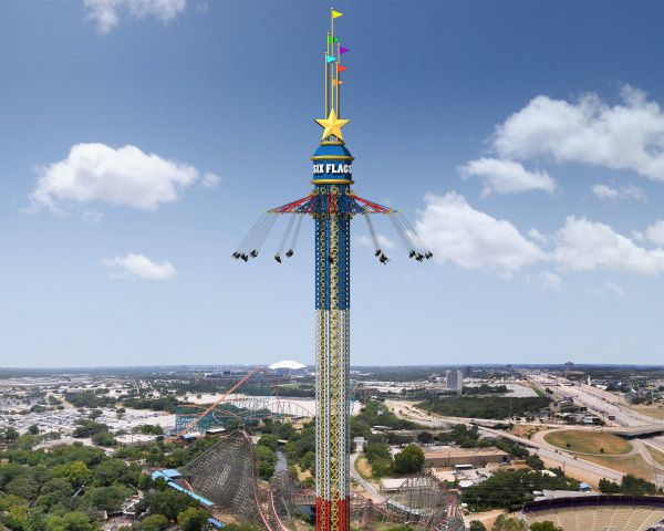 Six Flags Over Texas To Get World S Tallest Swing Ride