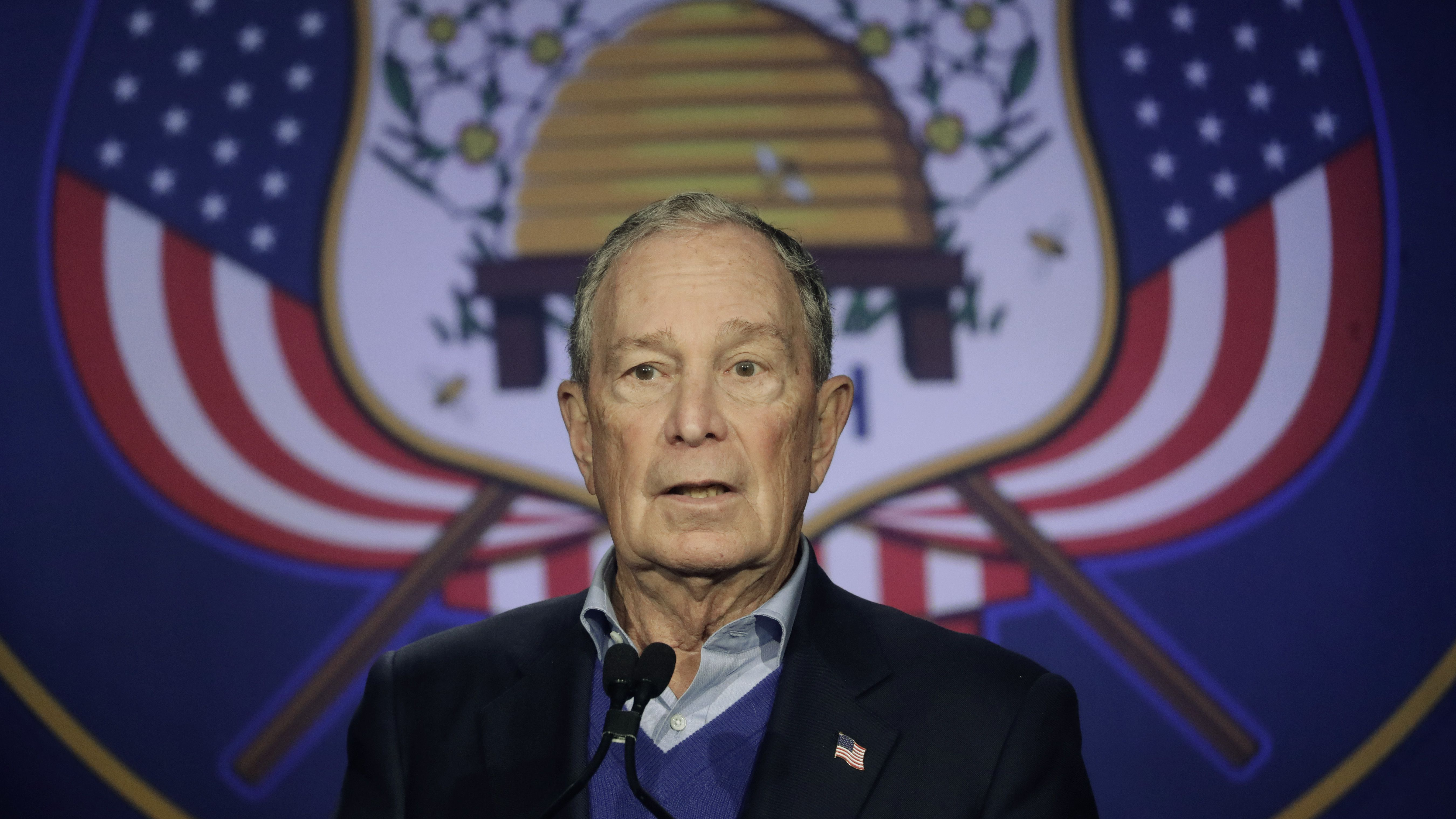 California for Mike Bloomberg Campaign Button 2020 President