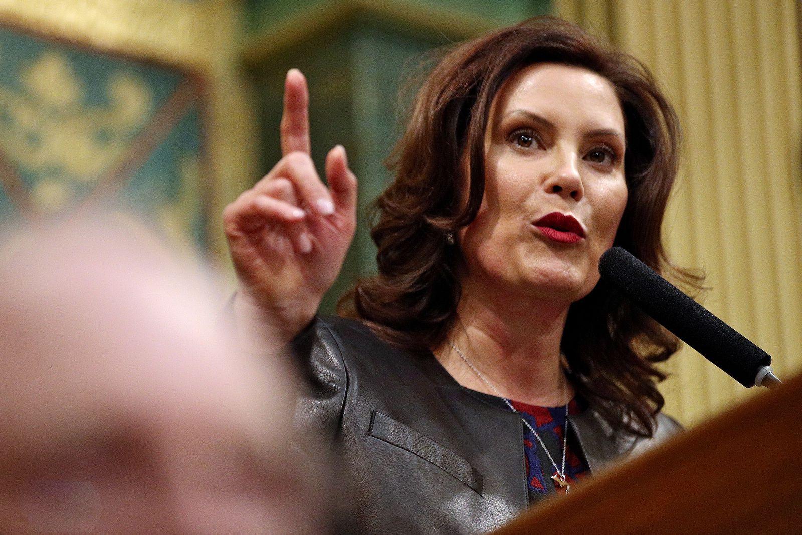 Michigan Gov Gretchen Whitmer Praised For State Of The Union Response Mlive Com