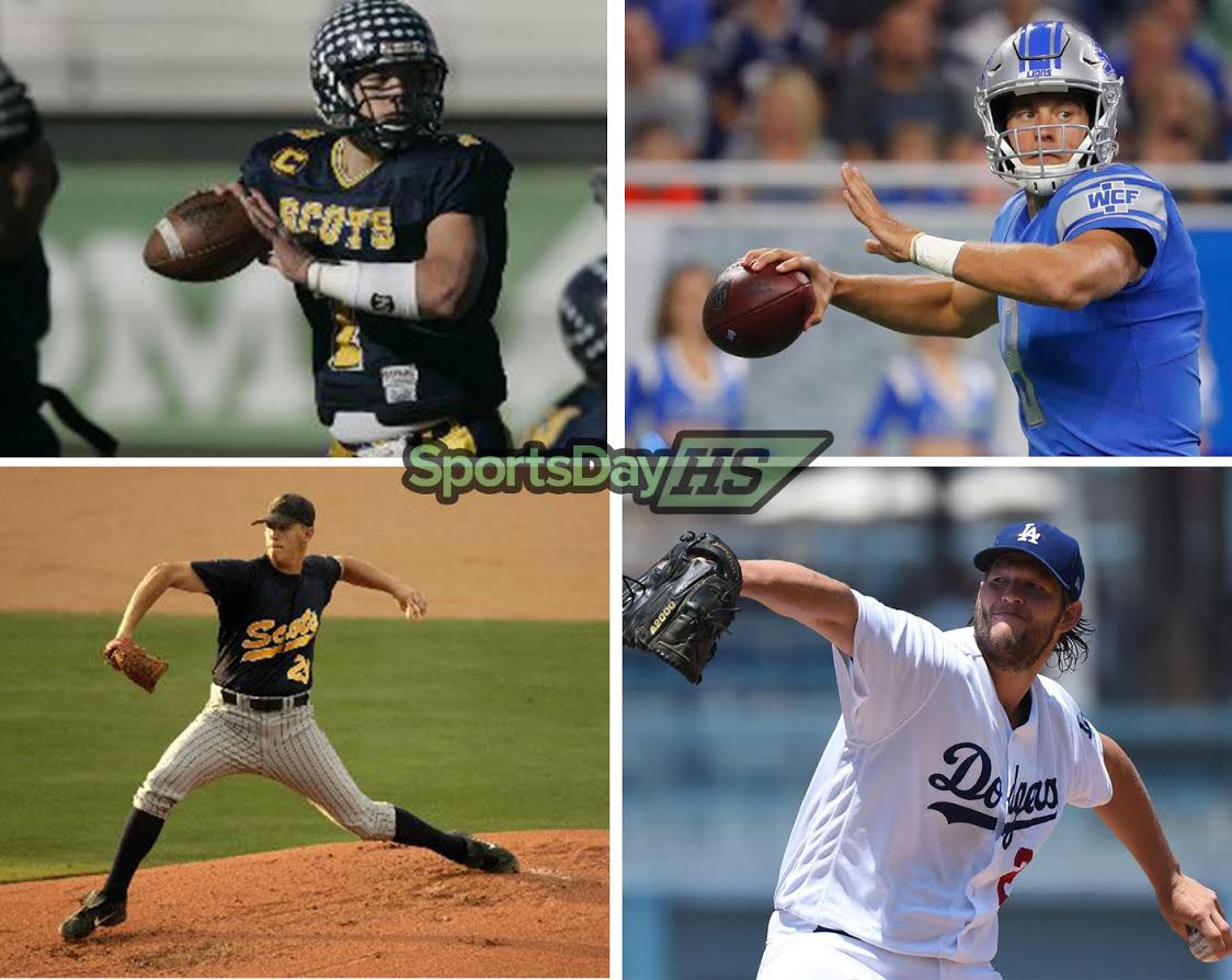 Watch Matthew Stafford's and Clayton Kershaw's rise from