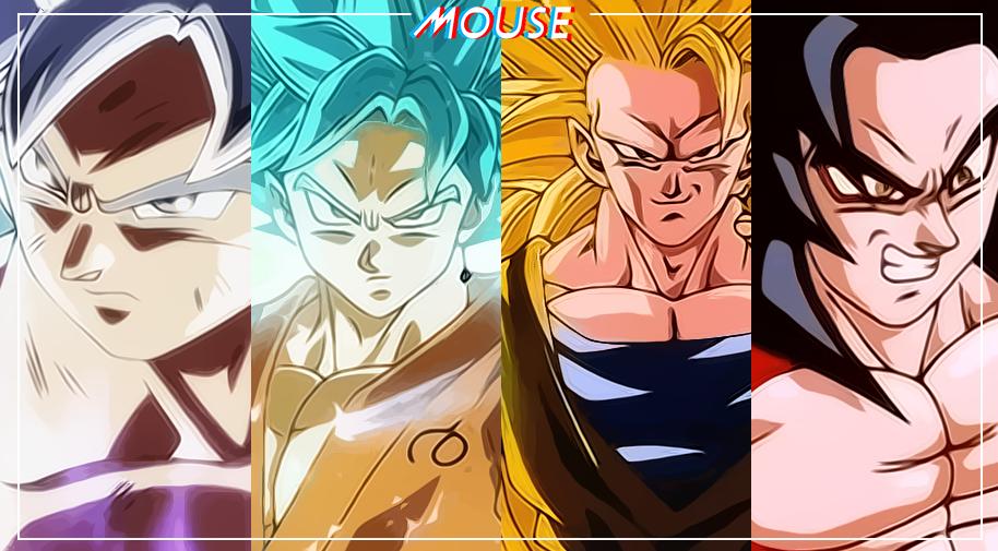 Las Diferentes Transformaciones De Goku En La Historia De Dragon Ball La Tercera