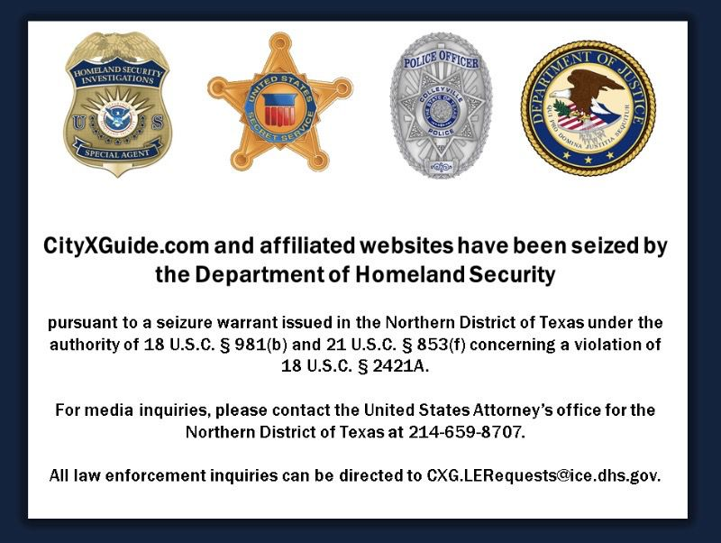 Feds Rescue A 13 Year Old Girl From Sex Trafficker And Take Down Online Successor To Dallas Notorious Backpage Site