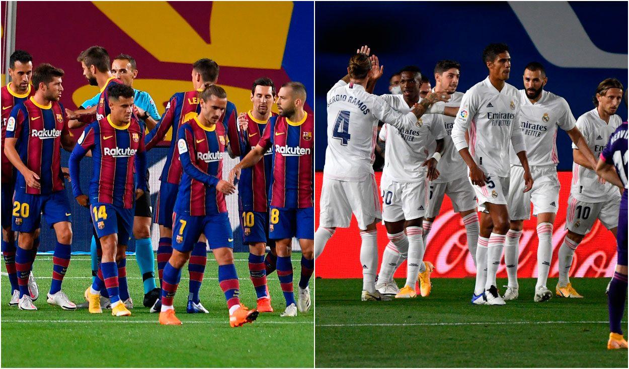 Saca la aseguranza camino hardware  Real Madrid derrotó 3-1 al FC Barcelona con show de Sergio Ramos | La  República