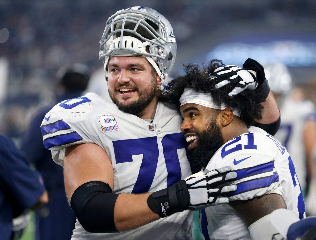 the latest 95abb f750e Zack Martin: Number of players willing to play through ...
