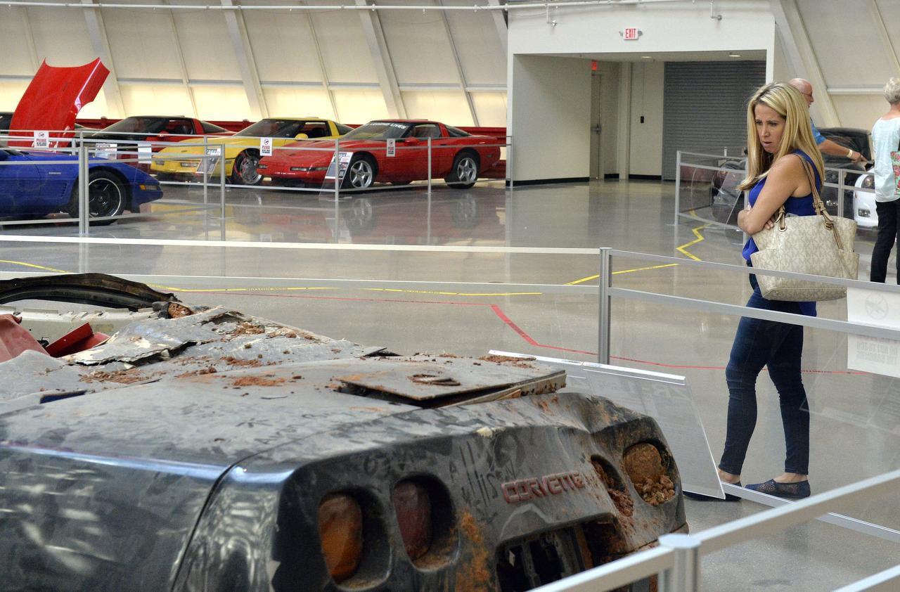 National Corvette Museum >> Wrecked Cars Revving Up Visits To National Corvette Museum