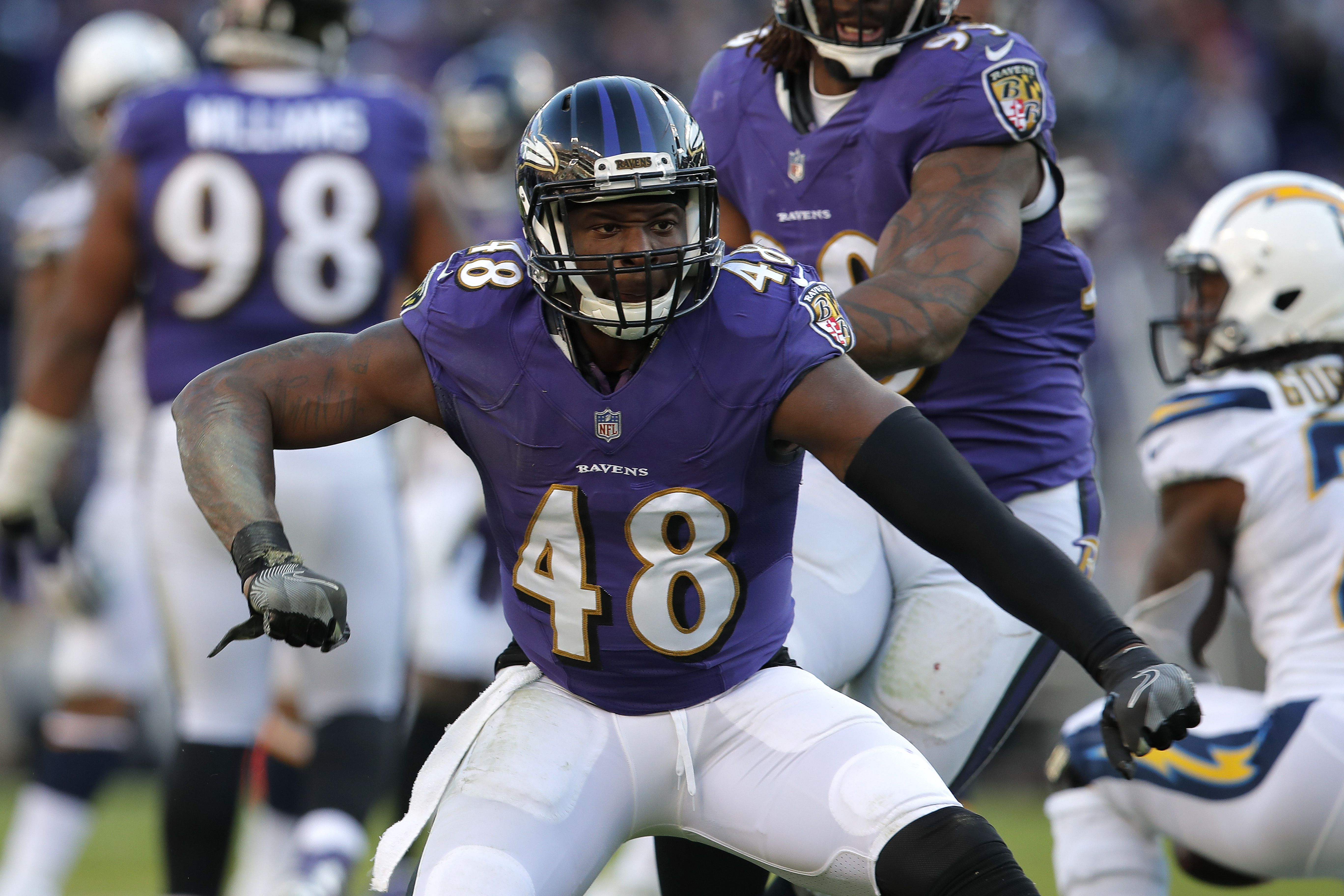 Now, we're the vets': Unheralded members of Ravens' 2016 rookie ...