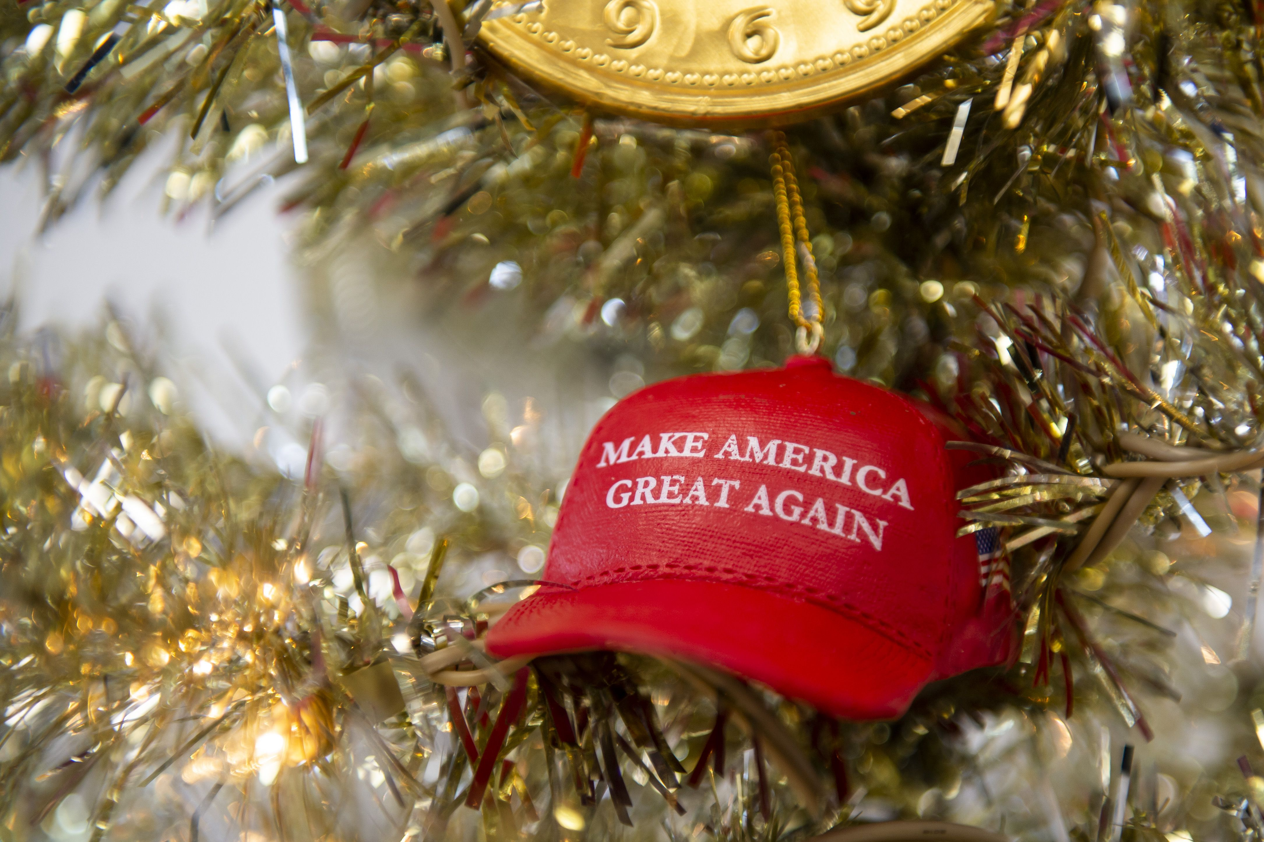 Trump 2020 Christmas Ornament Collection Trump Christmas Shoppe comes to Saginaw's Bay Plaza   mlive.com