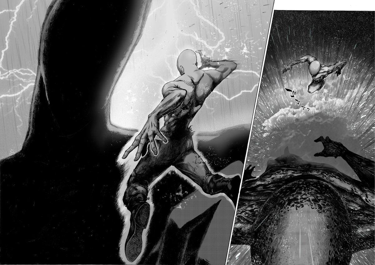 One Punch Man Saitama vs  God: El enfrentamiento divino