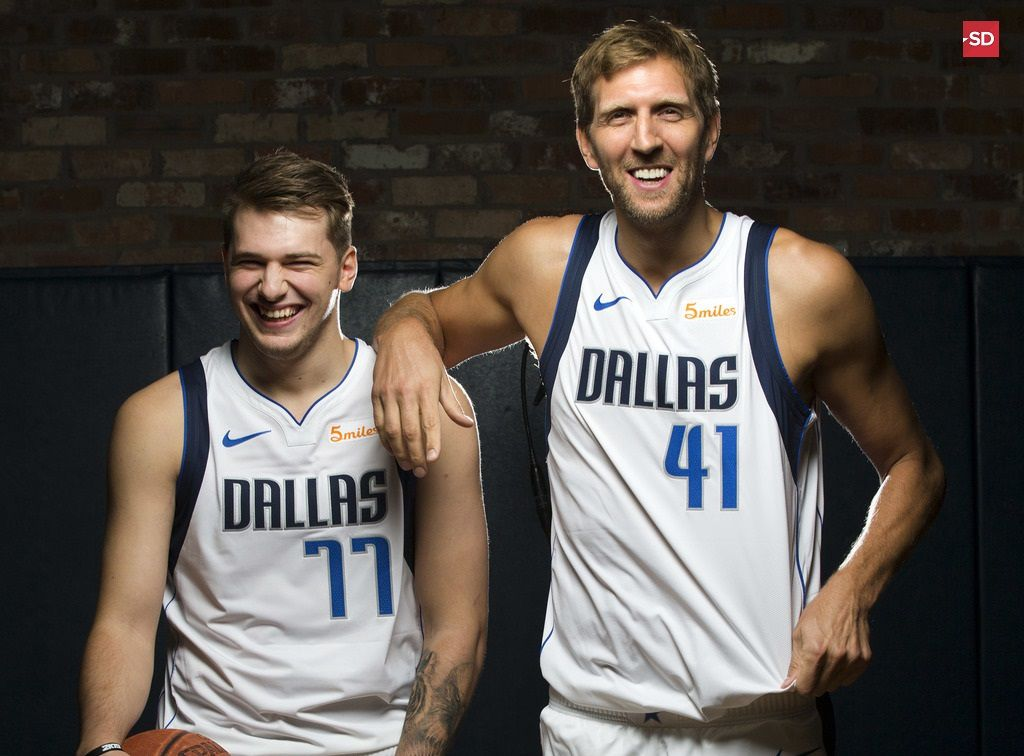 timeless design 3b43a a6389 The rookie and the vet: How Luka Doncic has already topped ...