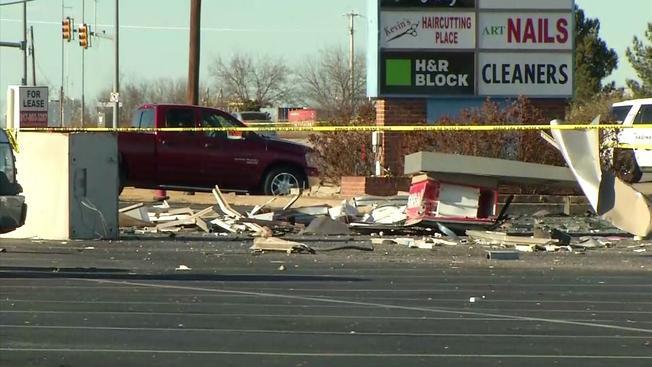 2 dead in crash at Saginaw ATM
