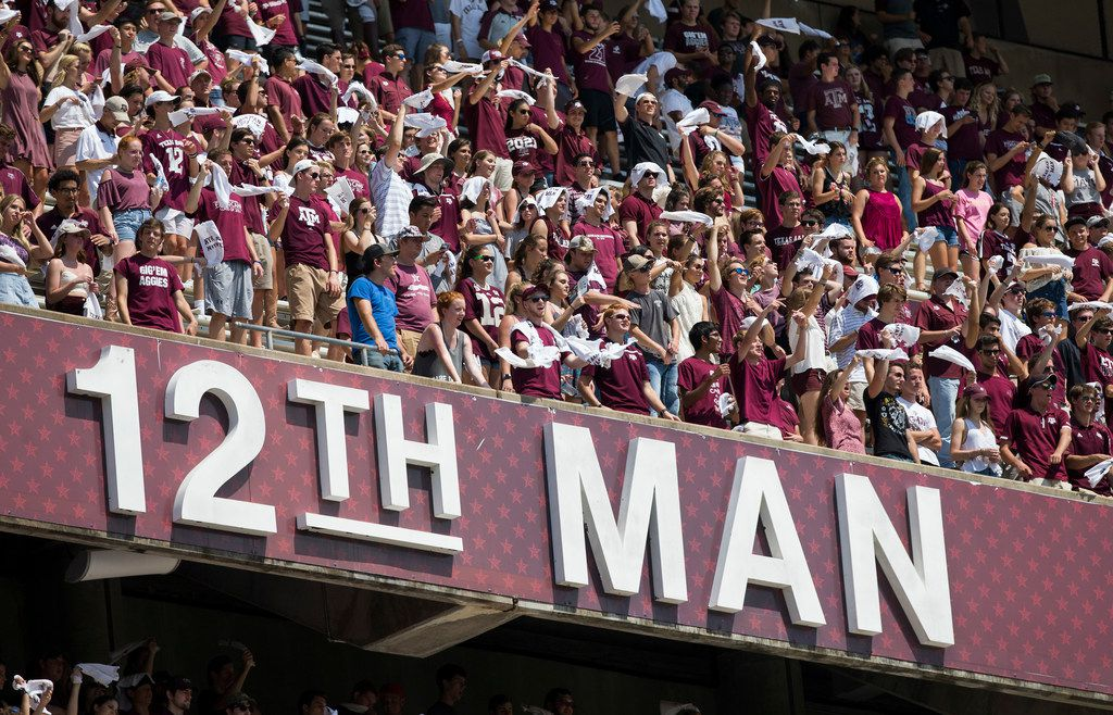 quality design 2ae9d 71154 Texas A&M football names new 12th Man to replace NFL-bound ...