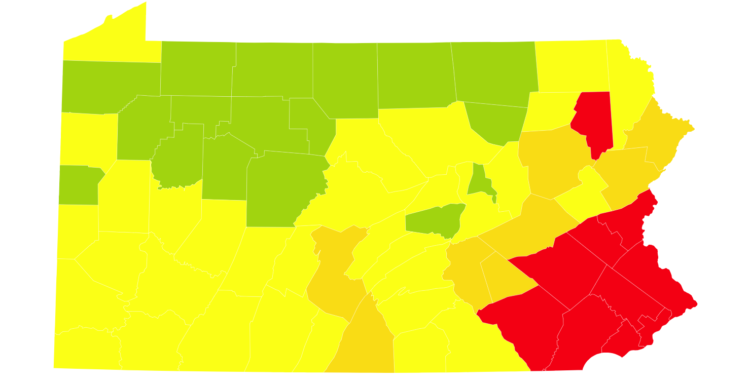 Picture of: Pa Coronavirus Update When The Stay At Home Order Will End In Lehigh Valley Philly Poconos 1st Green Phase Counties Announced Cases Reach 66k With Nearly 5k Deaths Covid 19 Case Map 5 22 20 Lehighvalleylive Com