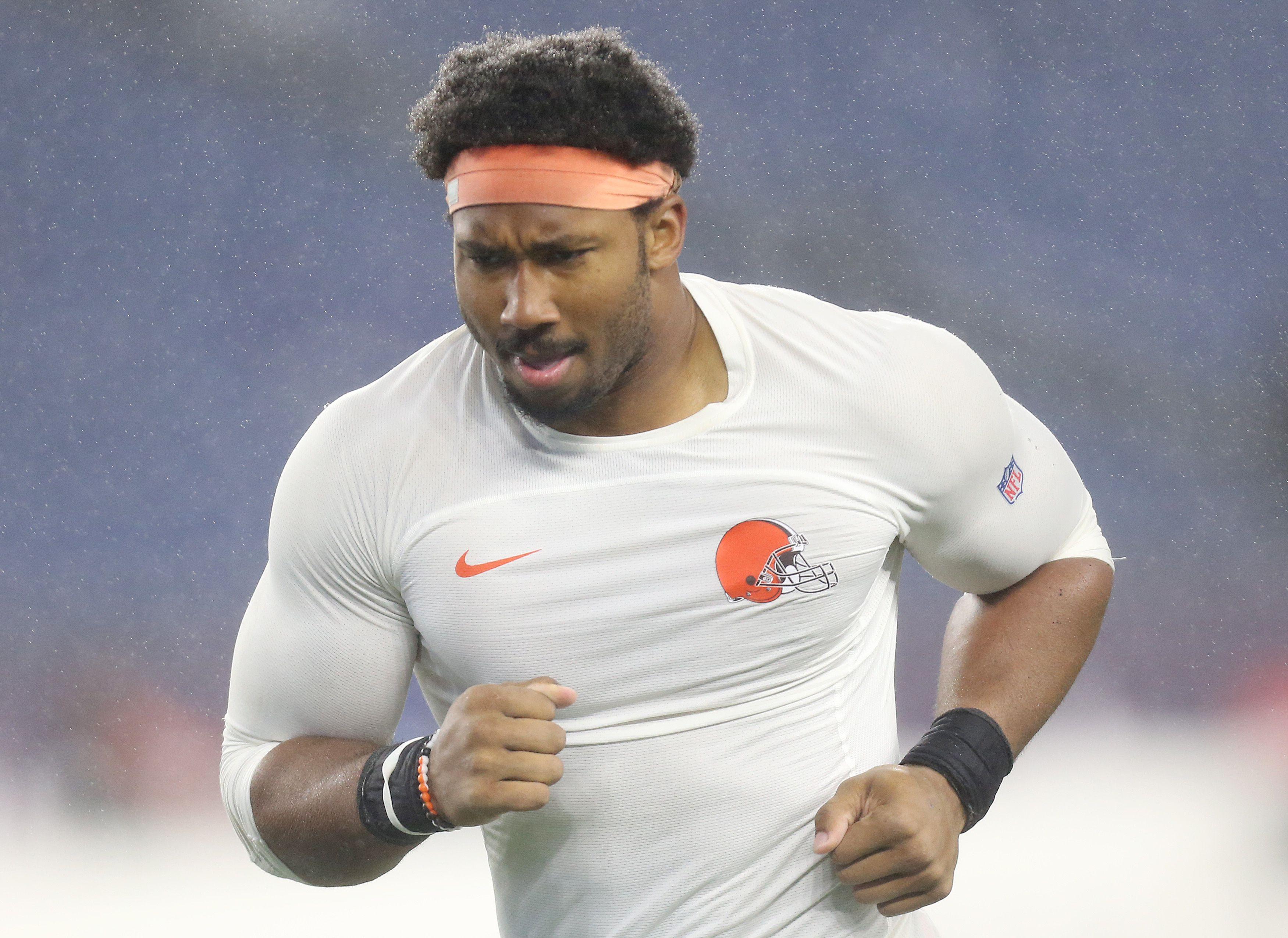 NFL's next richest defensive player That could be Myles Garrett ...