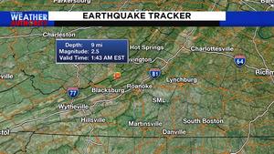 Weak earthquake hits Southwest Virginia early Wednesday morning