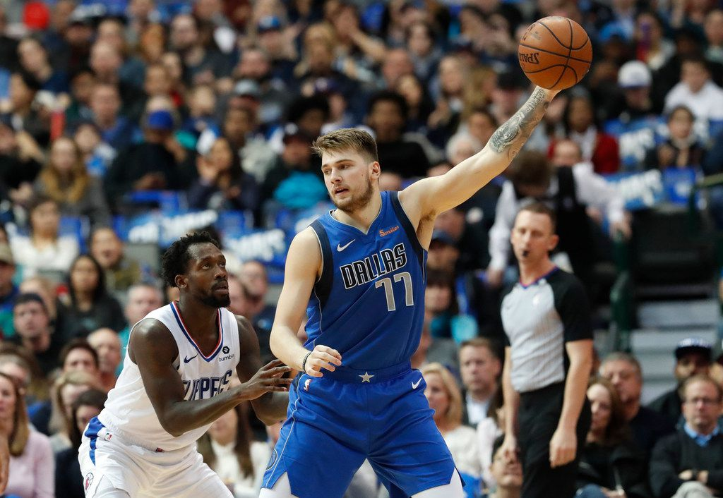 Watch Mavericks Rookie Luka Doncic Rips His Jersey Apart In