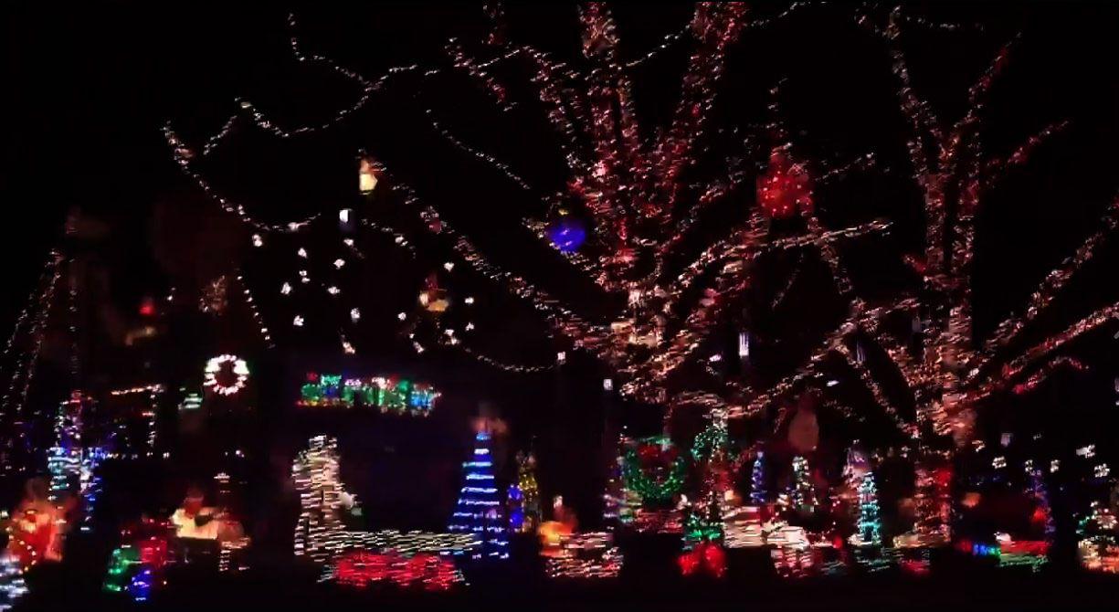 Christmas Lights Around Piqua Ohio 2021 Large Christmas Holiday Lights Display In Piqua Ohio