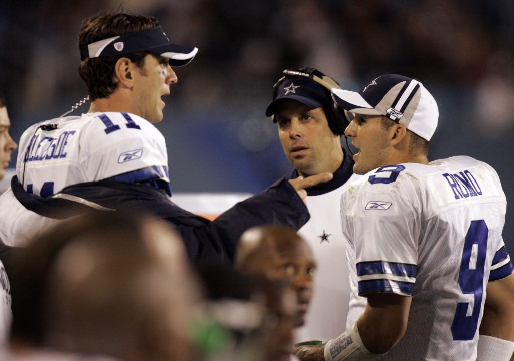 huge discount a6ee5 d97de Drew Bledsoe on Tony Romo: We want to believe team needs us ...