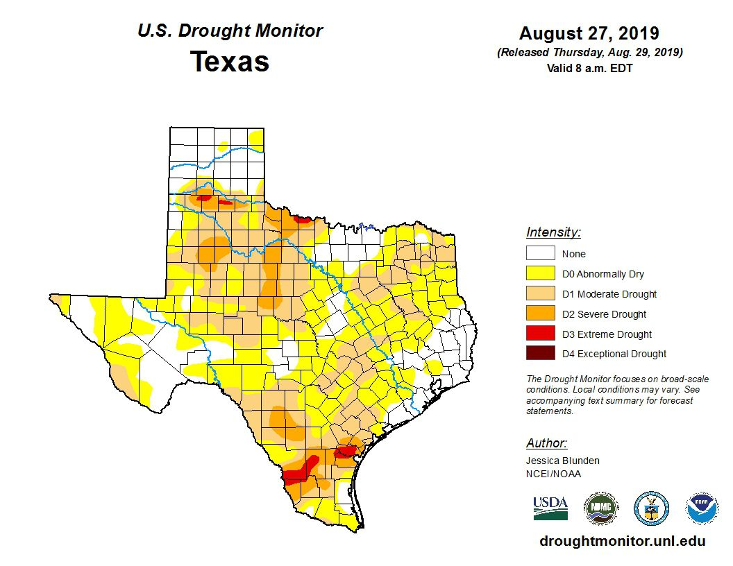 After a dry couple of months, drought creeps into Dallas