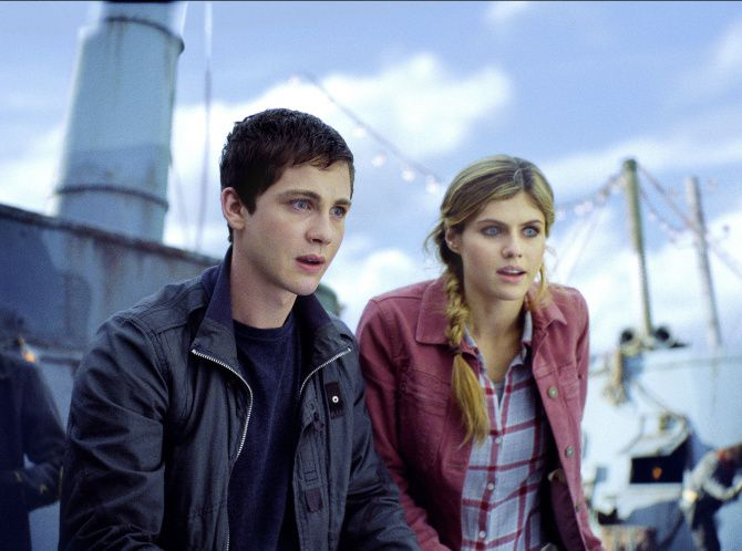 Percy Jackson Sea Of Monsters Has Style And A Welcome