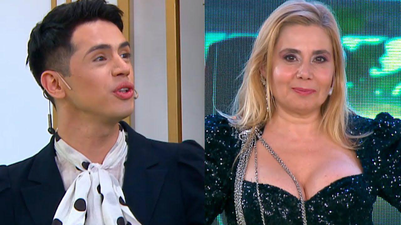 Santiago Artemis Insulto A Andrea Politti En El Vivo De Corte Y Confeccion Pero Por Que
