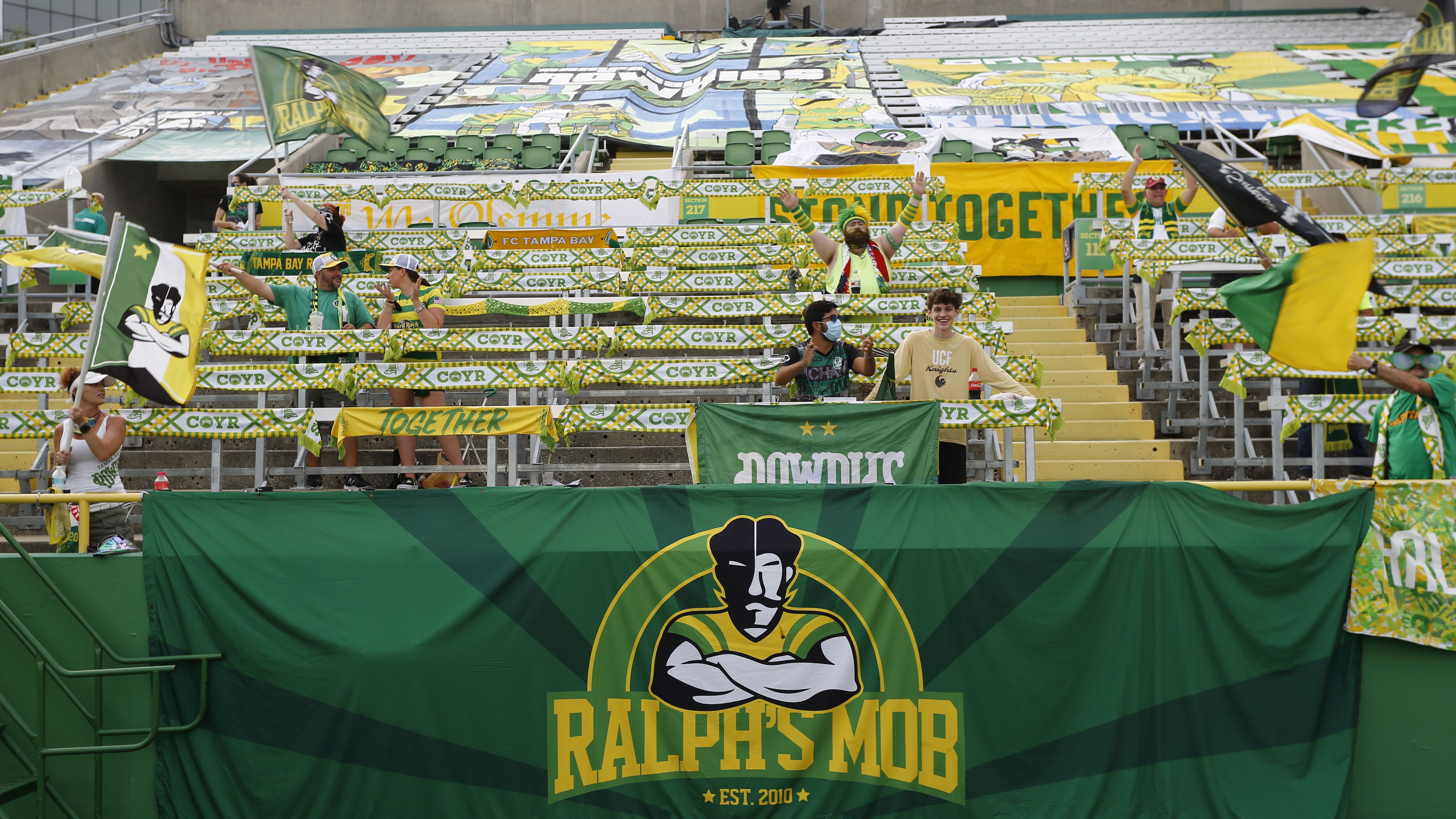 rowdies fans cheered they sang they partied all 140 of em rowdies fans cheered they sang they partied all 140 of em