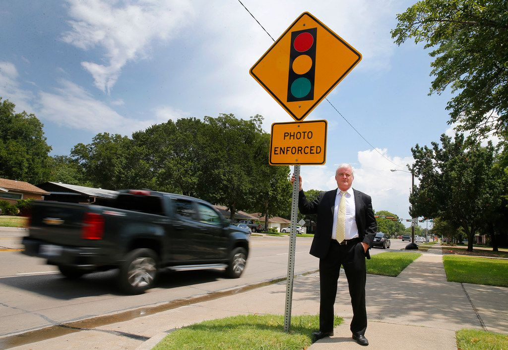 Why a Texas lawyer has spent years fighting a $75 red-light