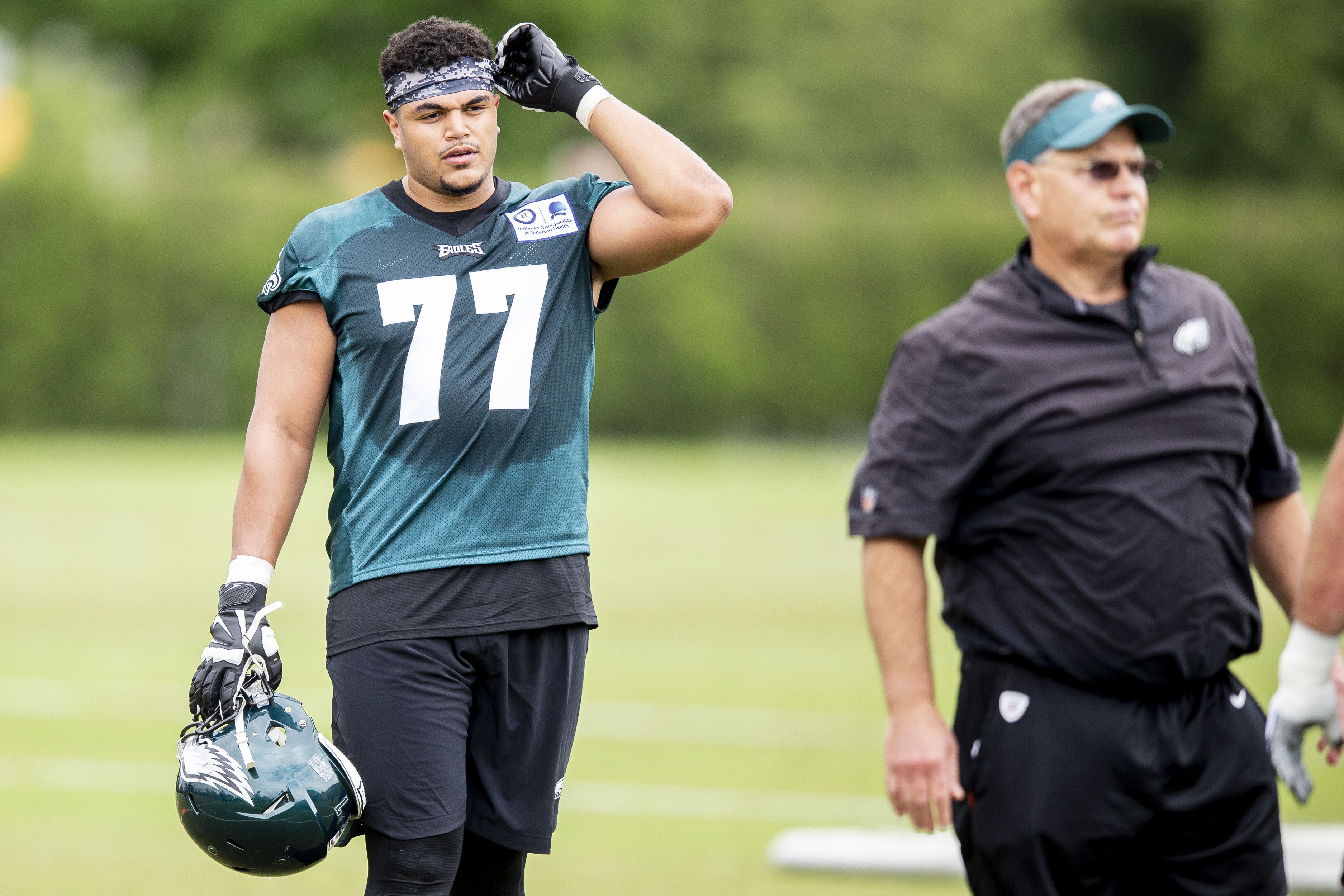 Andre Dillard prepares for first start with Eagles at Cowboys: 'I ...