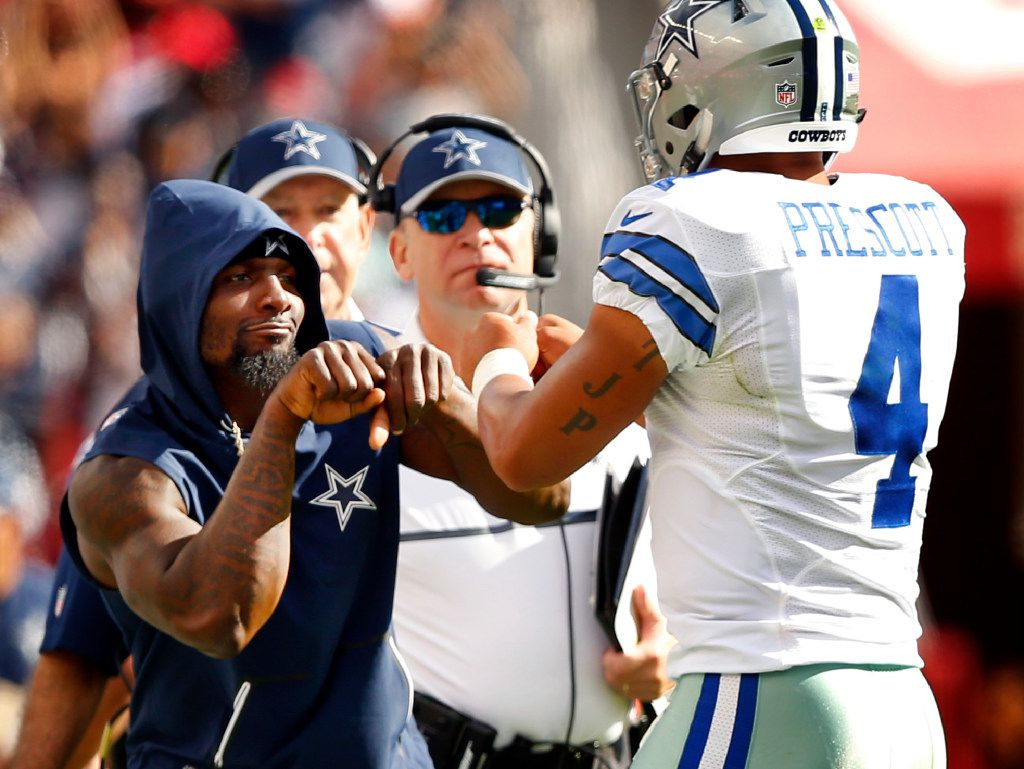 Squad Dez Bryant Goes Out On Birthday With Cowboys Rookies