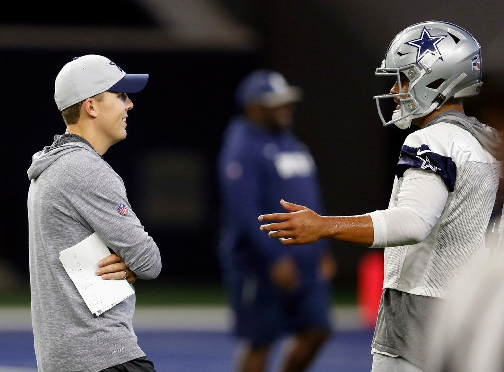 Under Kellen Moore The Cowboys Are Learning To Dictate The