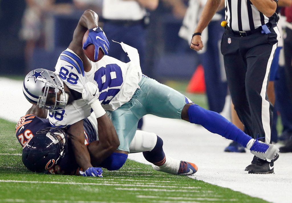 Dez Bryant Has Hairline Fracture In Knee Wr Not Ruled Out