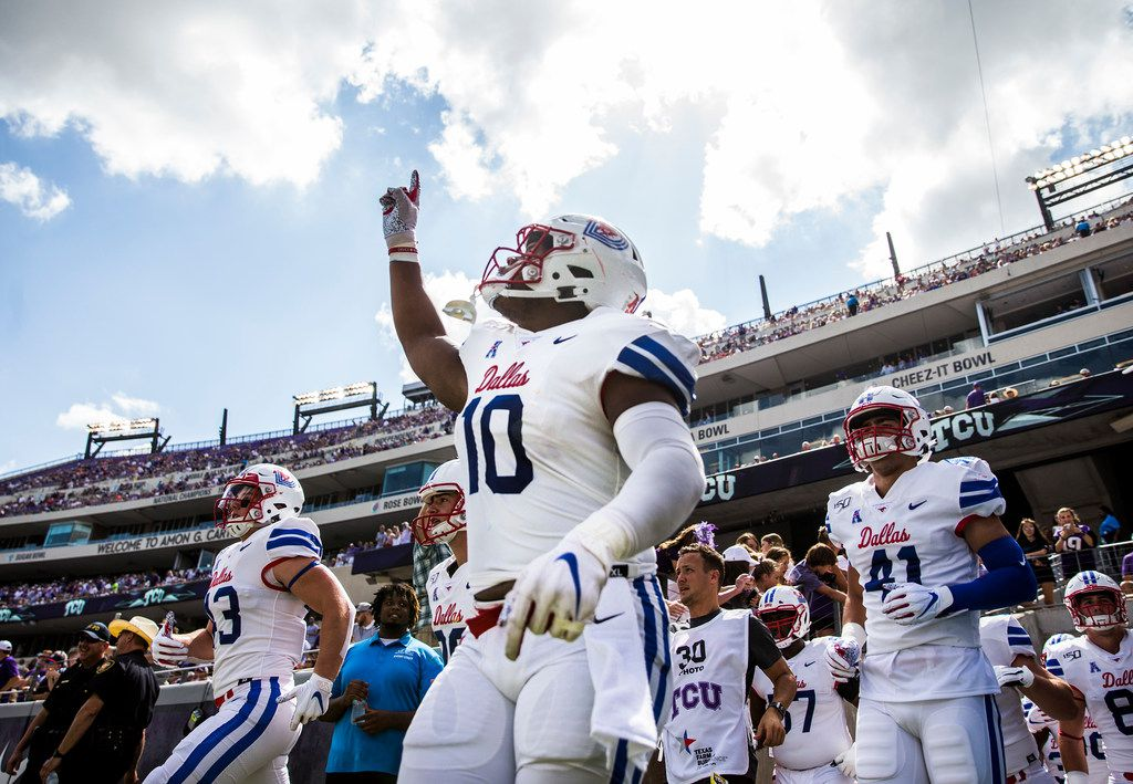 Lost In The Historic Nature Of Smu S First Ap Top 25 Ranking