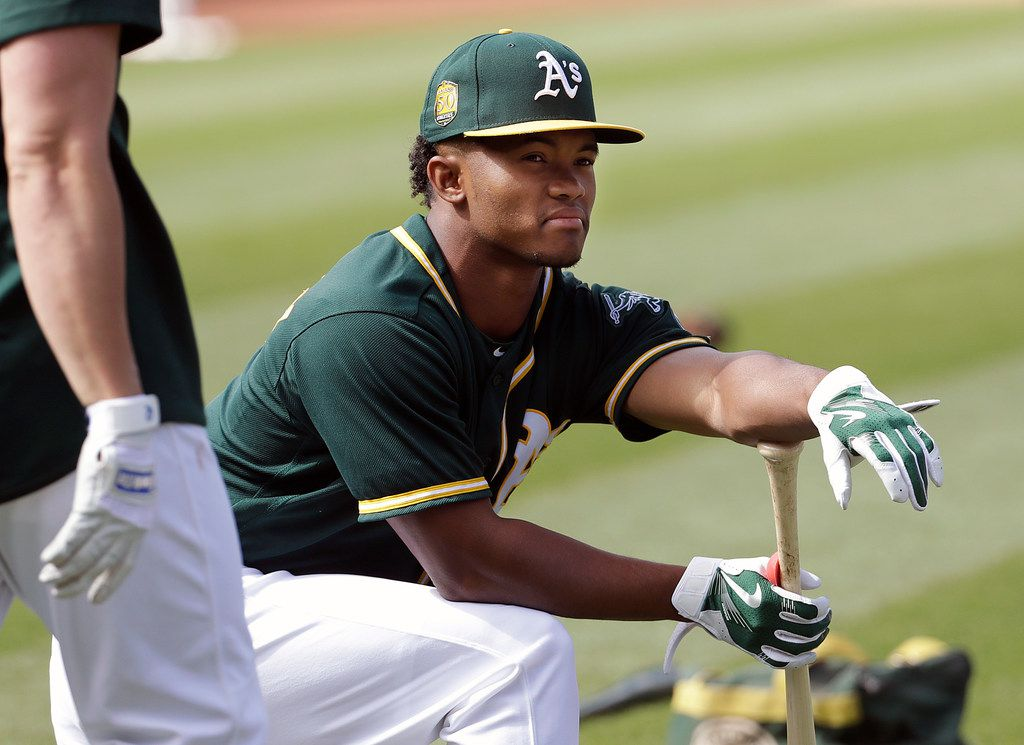 new arrival fc2b8 37b64 Report: Oakland A's looking to give Kyler Murray a major ...