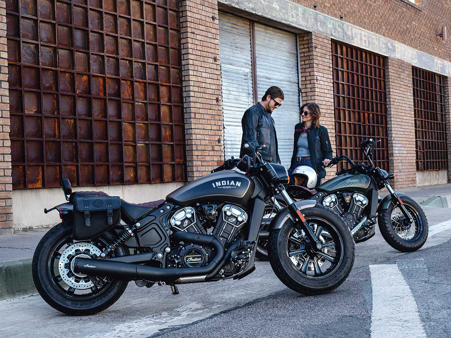 2020 Indian Scout Bobber Twenty And Scout 100th Anniversary Motorcyclist