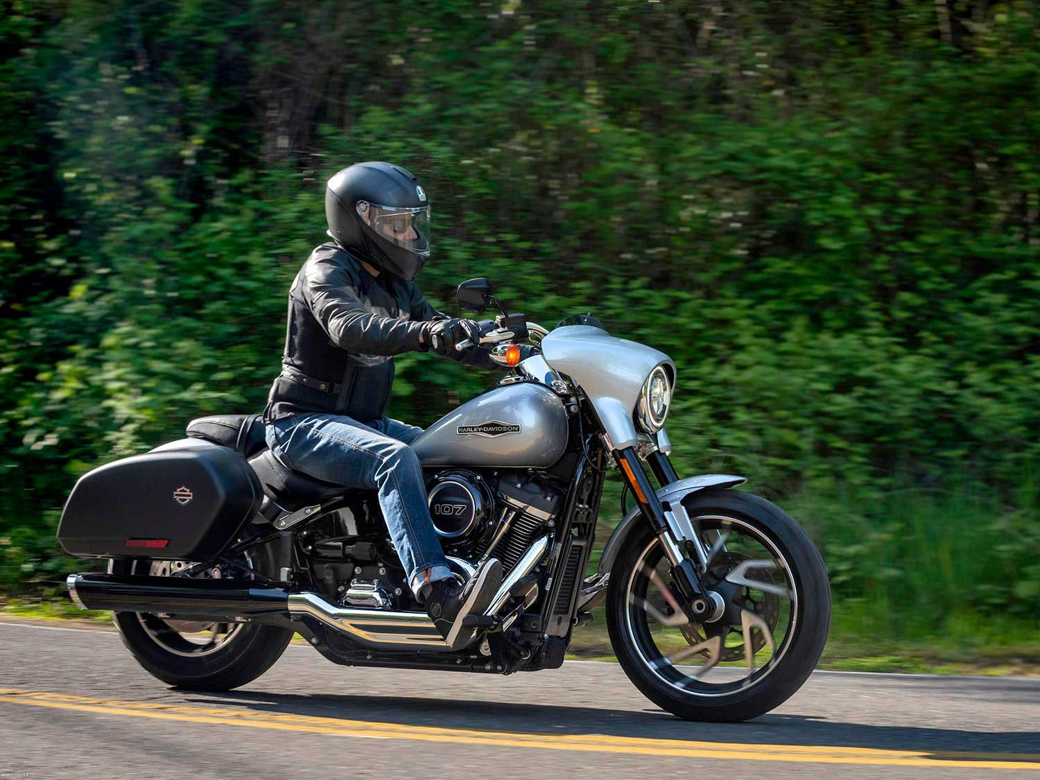 1,000 Miles On A 2019 Harley-Davidson Sport Glide—And We're
