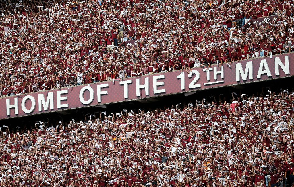 Kyle Fields Old Home Of The 12th Man Letters To Be