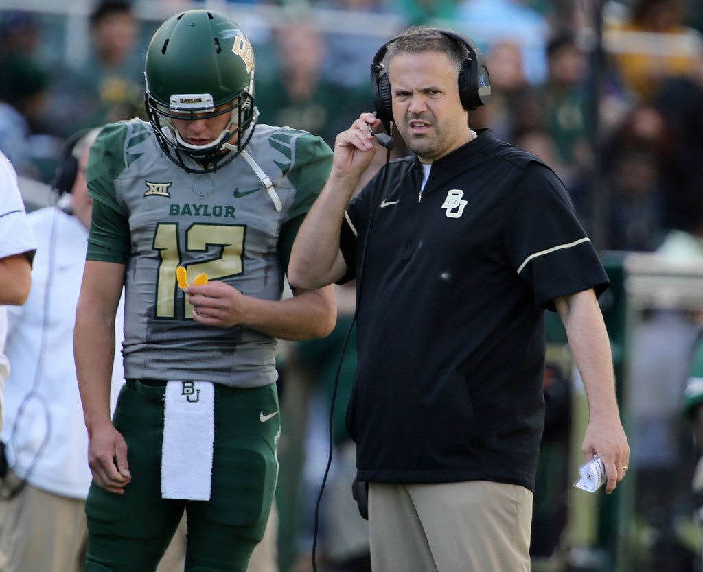 Report Baylor S Matt Rhule A Way Outside The Box Name