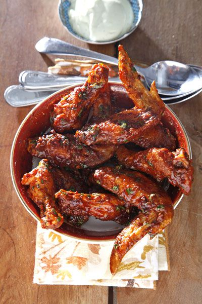 Chipotle Hot Wings Recipe | Saveur