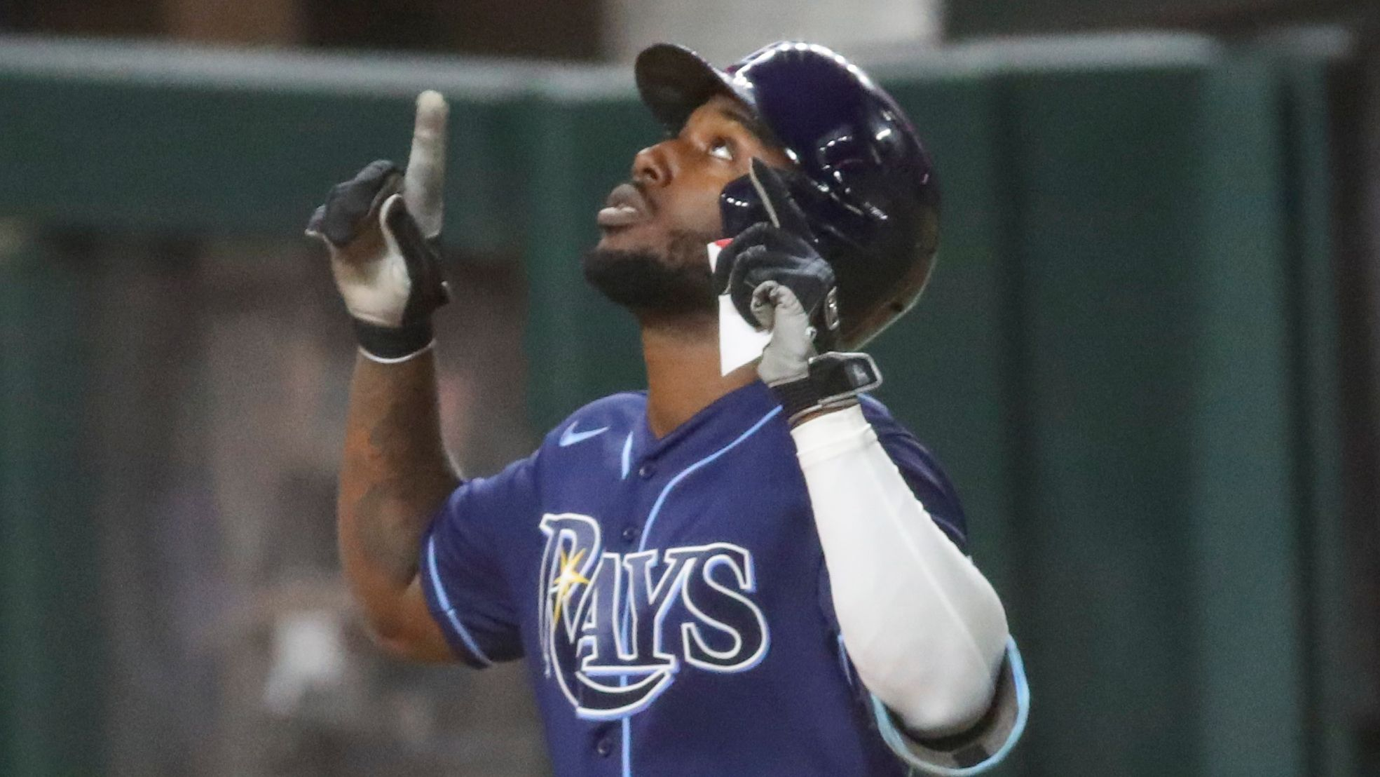 you are ridiculous twitter reacts to randy arozarena s record setting homer tampa bay times