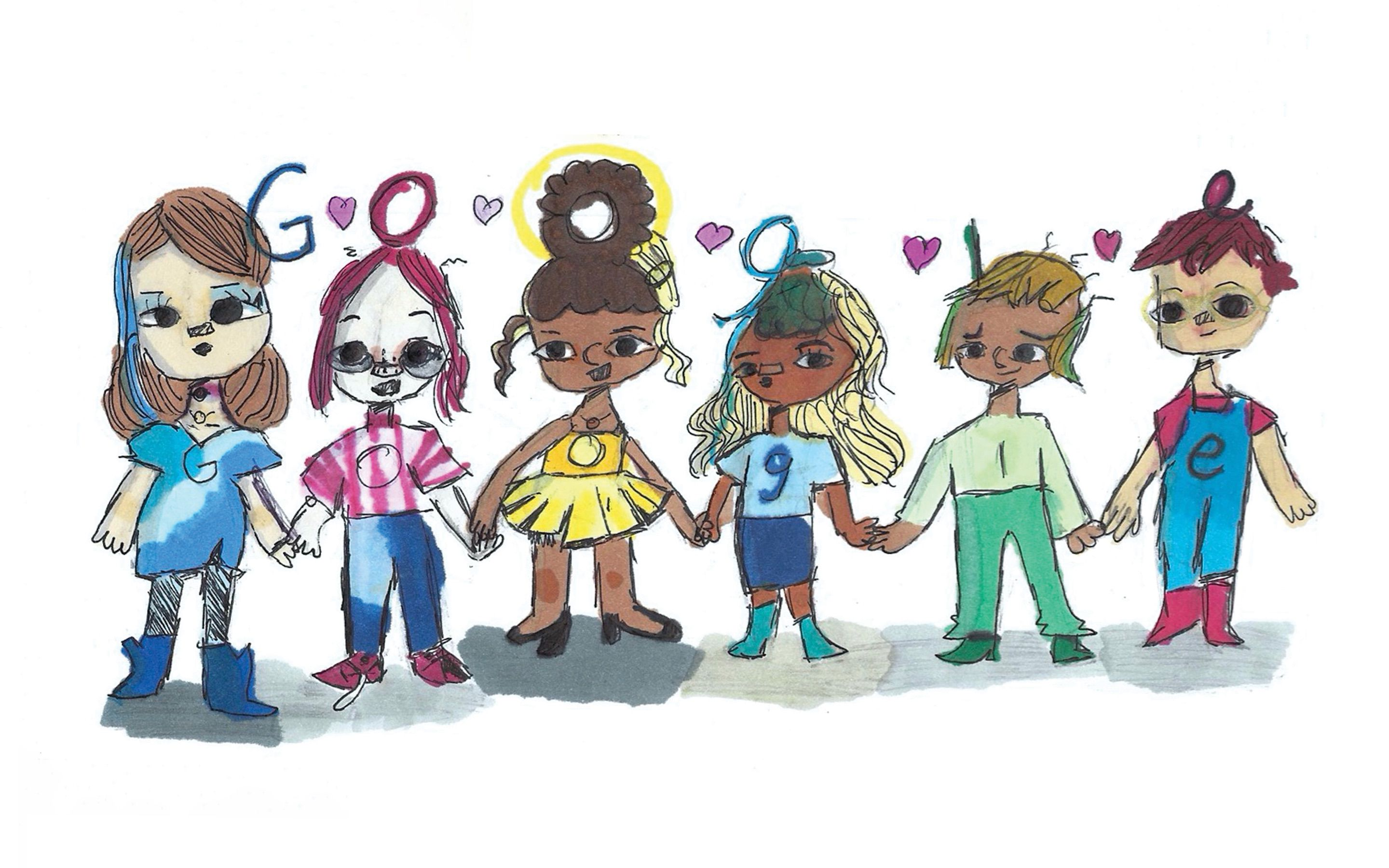 frisco student wins google doodle art contest and 30k college scholarship dallas morning news