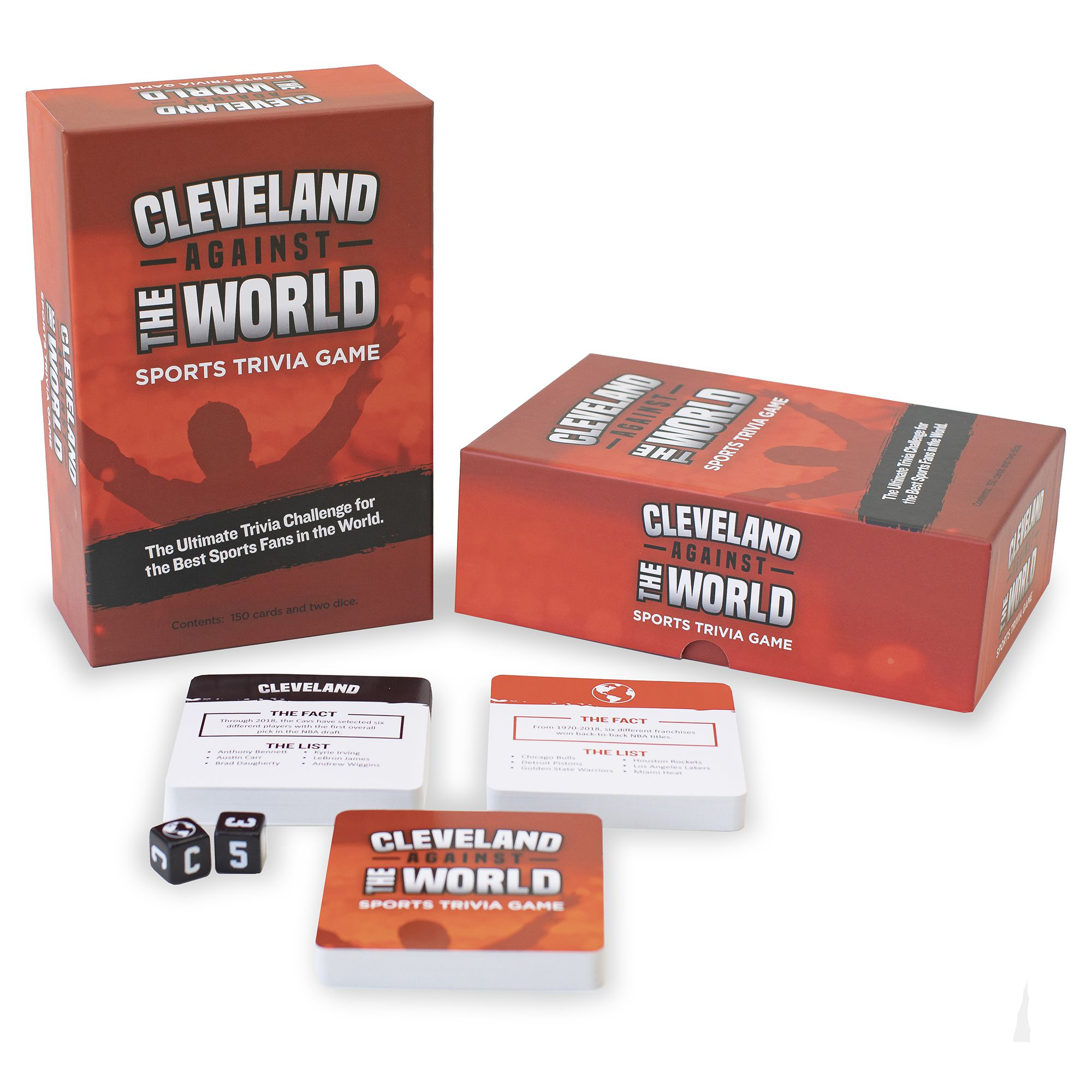 YOU GOTTA KNOW CLEVELAND SPORTS TRIVIA GAME INDIANS BROWNS CAVALIERS NEW!