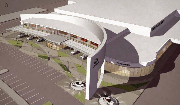 Park Place Lexus >> Auto Dealer Park Place Plans Huge New Lexus Store In Plano