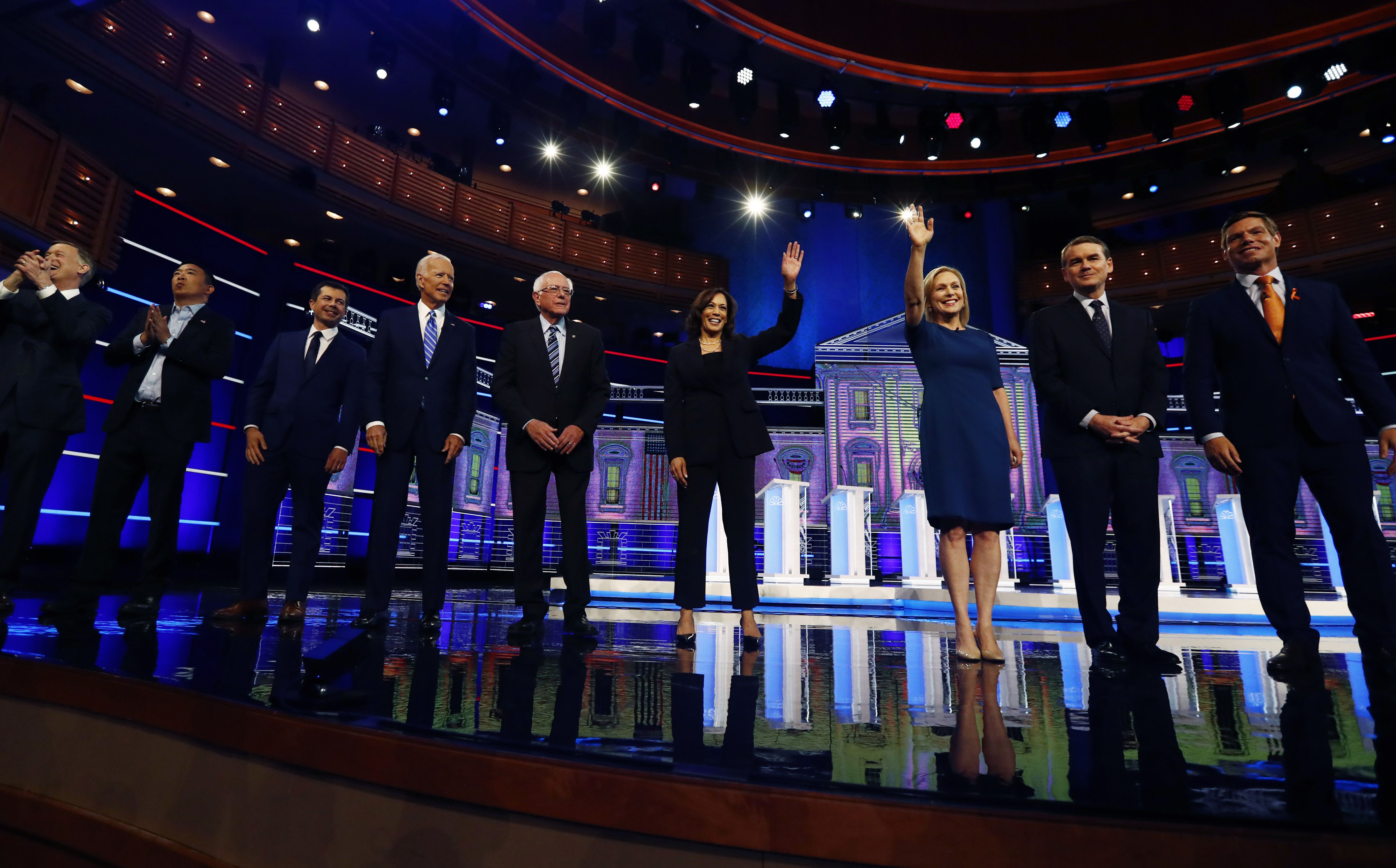 The second round of Democratic debates: How to watch, and who is
