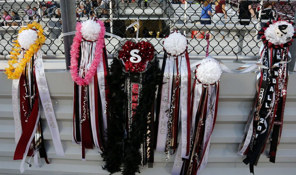 At Frisco High School A Simpler Homecoming Mum