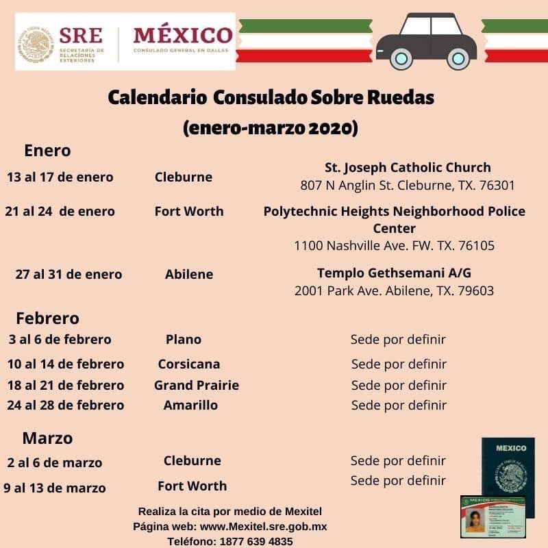 consulado mexicano movil 2020 oregon