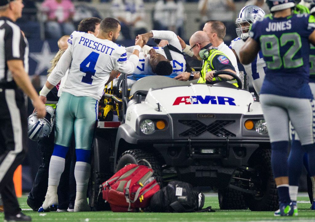 Cowboys Wr Allen Hurns Underwent Surgery After Suffering Gruesome Ankle Injury In Wild Card Game Vs Seahawks
