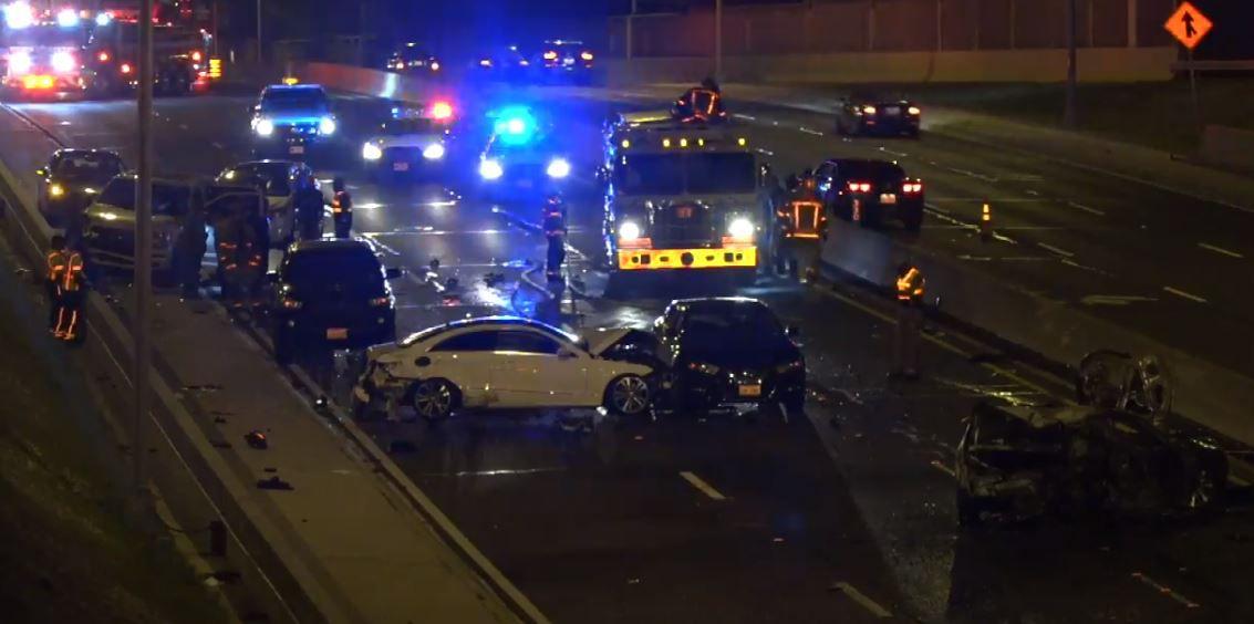 Jesuit student killed by speeding Mercedes on Dallas North