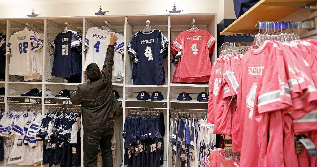 dallas cowboys jersey shop